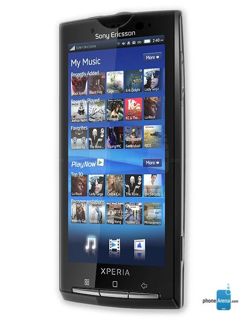 Sony Ericsson Xperia X10 full specs