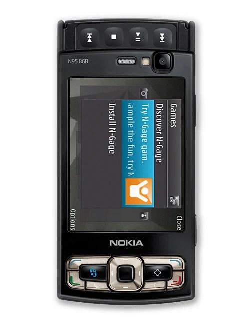 Nokia N95 8GB specs