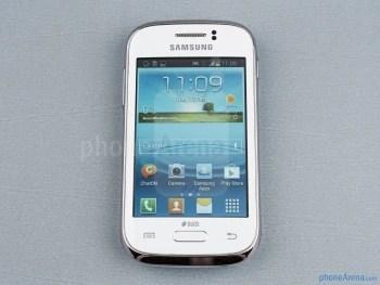 Frente - Samsung Galaxy jovem Duos Visualização
