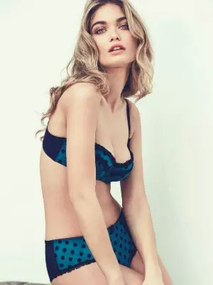 soutien-gorge et shorty bleu turquoise de new look