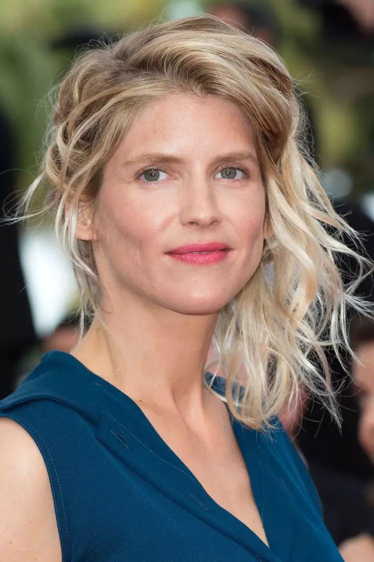 Alice Taglioni  Les plus belles coiffures du Festival de Cannes  Journal des Femmes