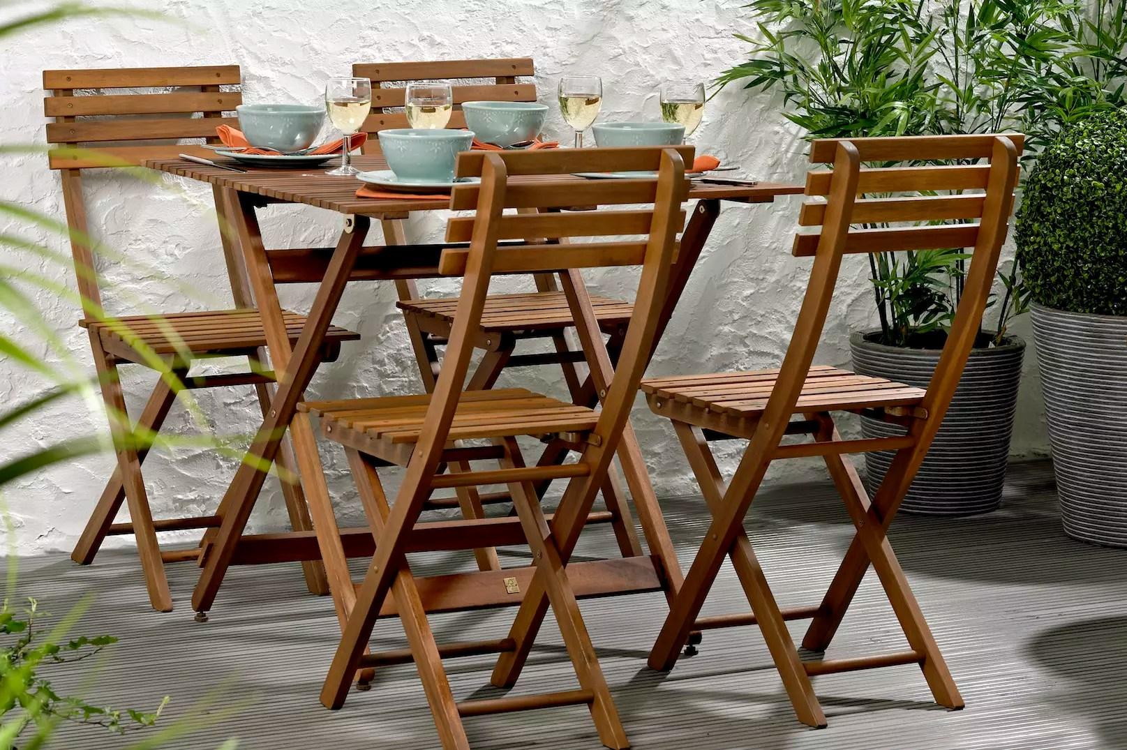 Table De Jardin En Bois Casa | Salon Salon De Jardin Bois Unique ...