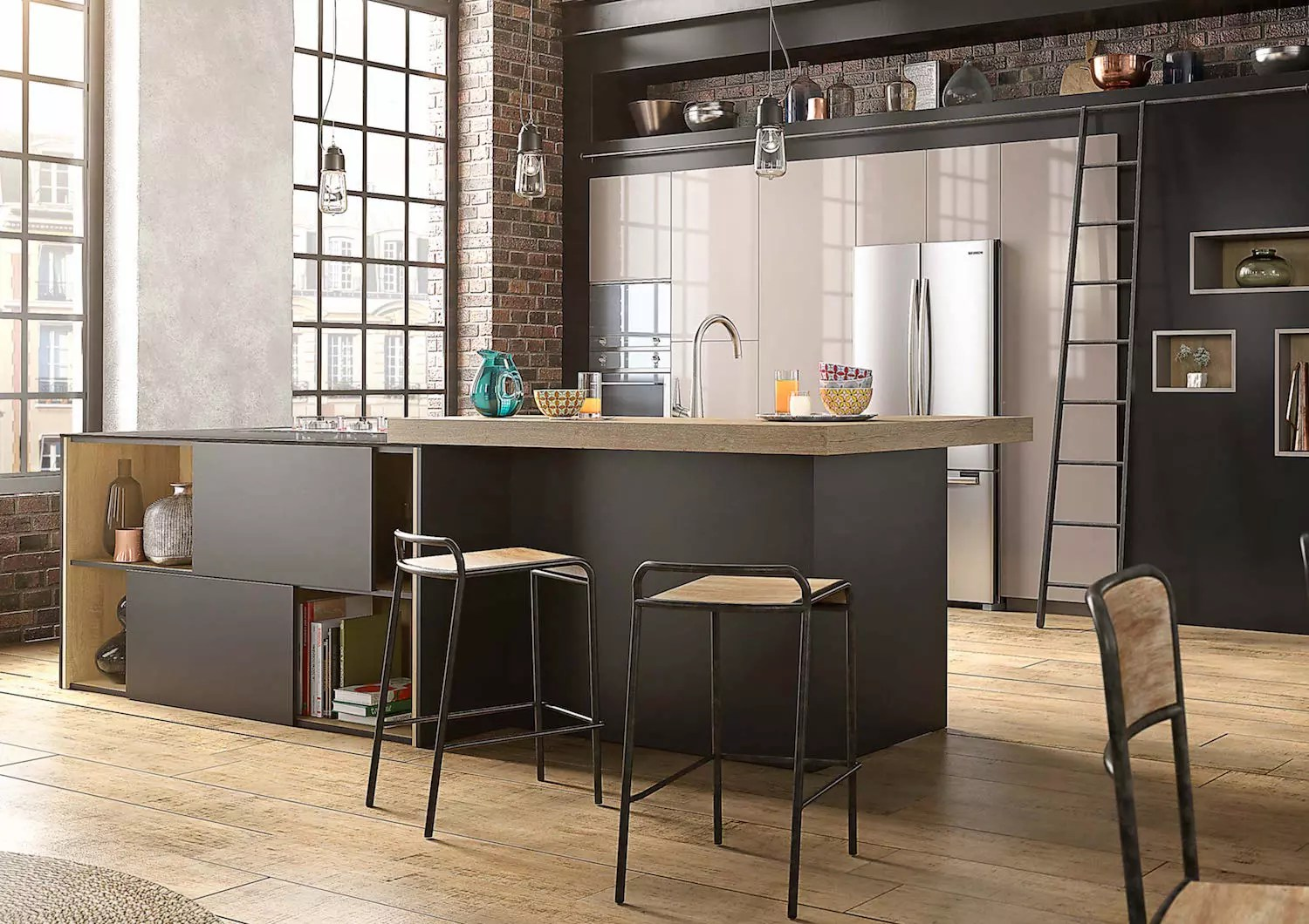 Deco Cuisine Moderne Blanche Ifmore