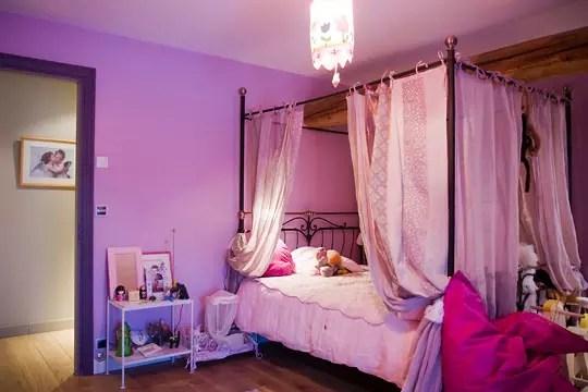 Une chambre de princesse  Impressionnante renaissance dune ancienne ferme  Journal des Femmes