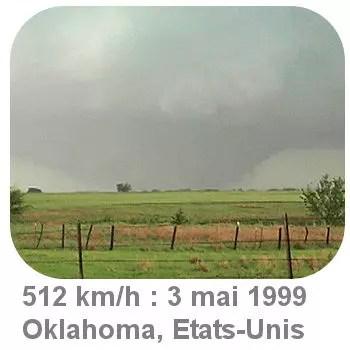 les tornades du 3 mai 1999 dans l'etat de l'oklahoma, aux etats-unis, étaient