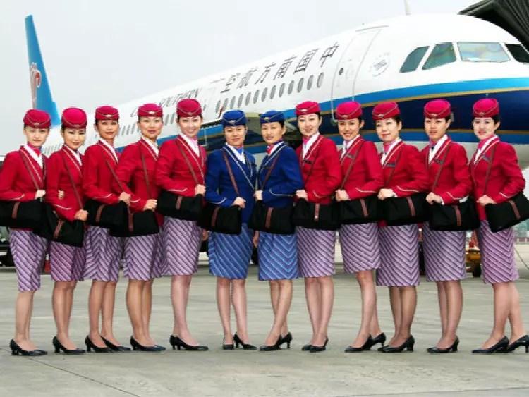 Coquetterie signe China Southern  Les plus beaux uniformes dhtesses de lair  Linternaute