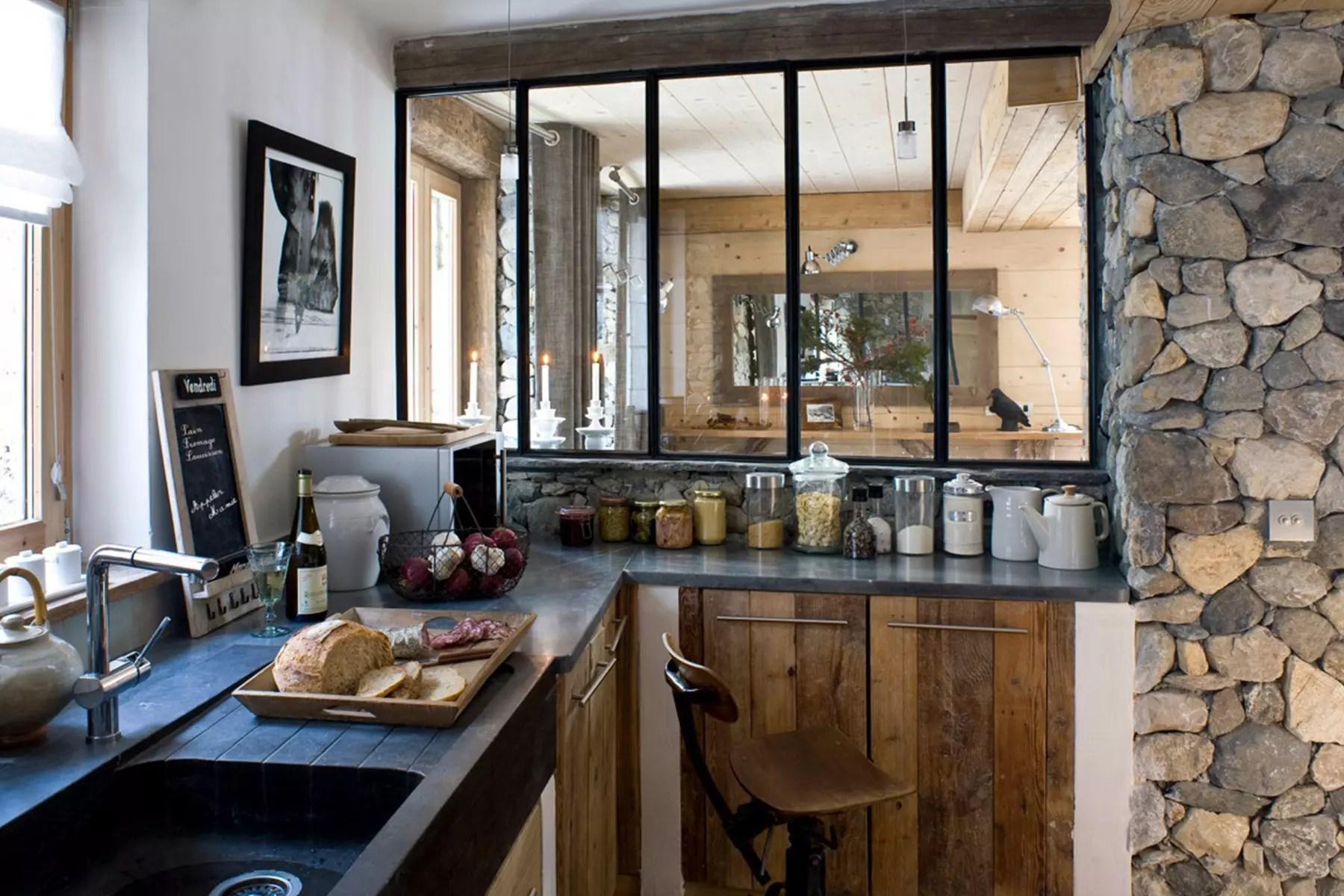 Best Rideaux Cuisine Style Montagne Images - Payn.us - payn.us