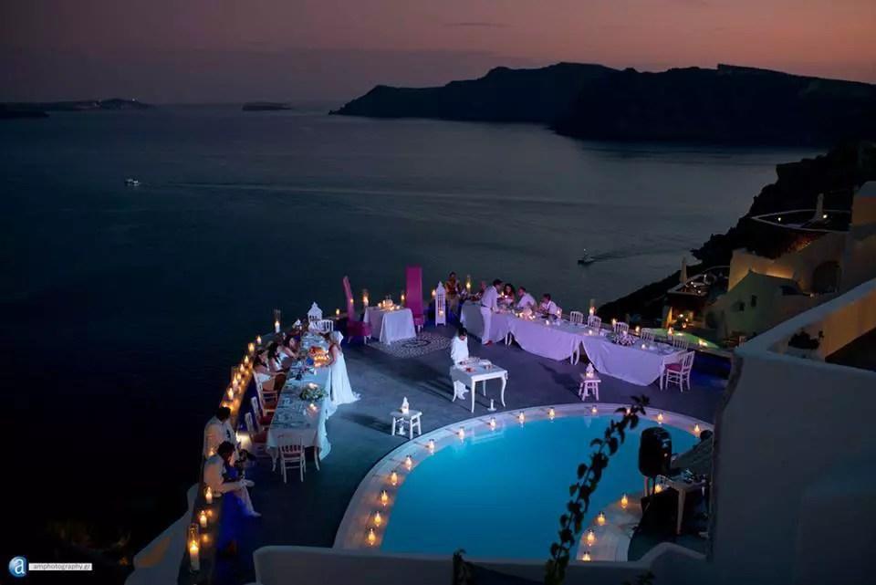 Lauda restaurant  Santorin Grce  Ces restaurants qui