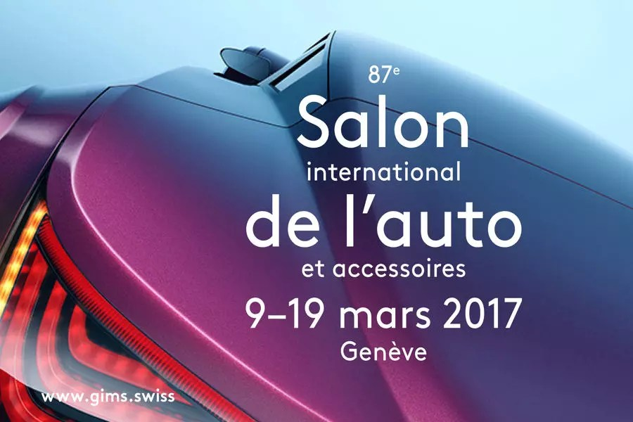 Salon de Genve 2017  laffiche et les dates connues infos billets nouveauts