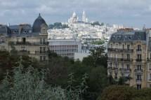 Montmartre Vu Des Buttes Chaumont