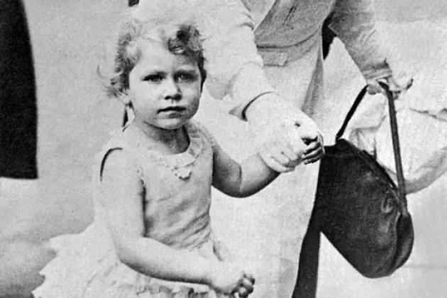 Elisabeth II enfant