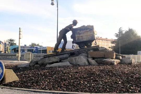 Hommage aux mineurs  Des rondspoints originaux   Linternaute