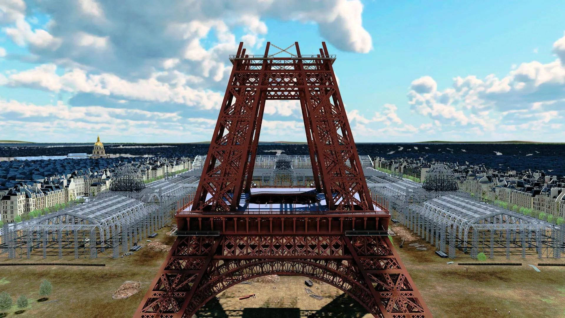 Un Paris historique en 3D et vu du ciel  Paris la ville  remonter le temps  le docu