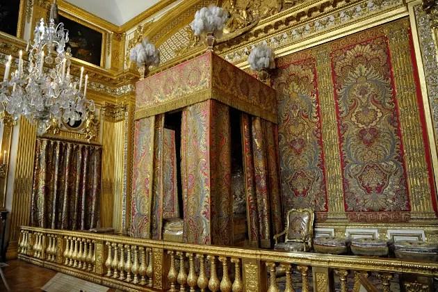 Chteau de Versailles Chambre du roi  Une vie de roi