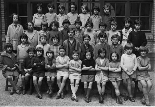 Ecole primaire rue de Pontoise  Photos de classe 1900  Linternaute