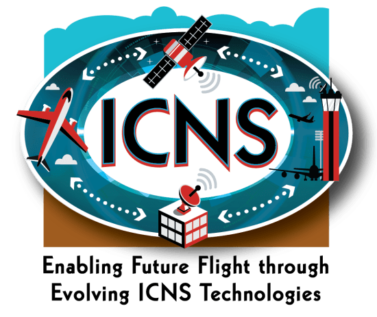 2019 Theme Graphic - Enabling Future Flight through Evolving ICNS Technologies