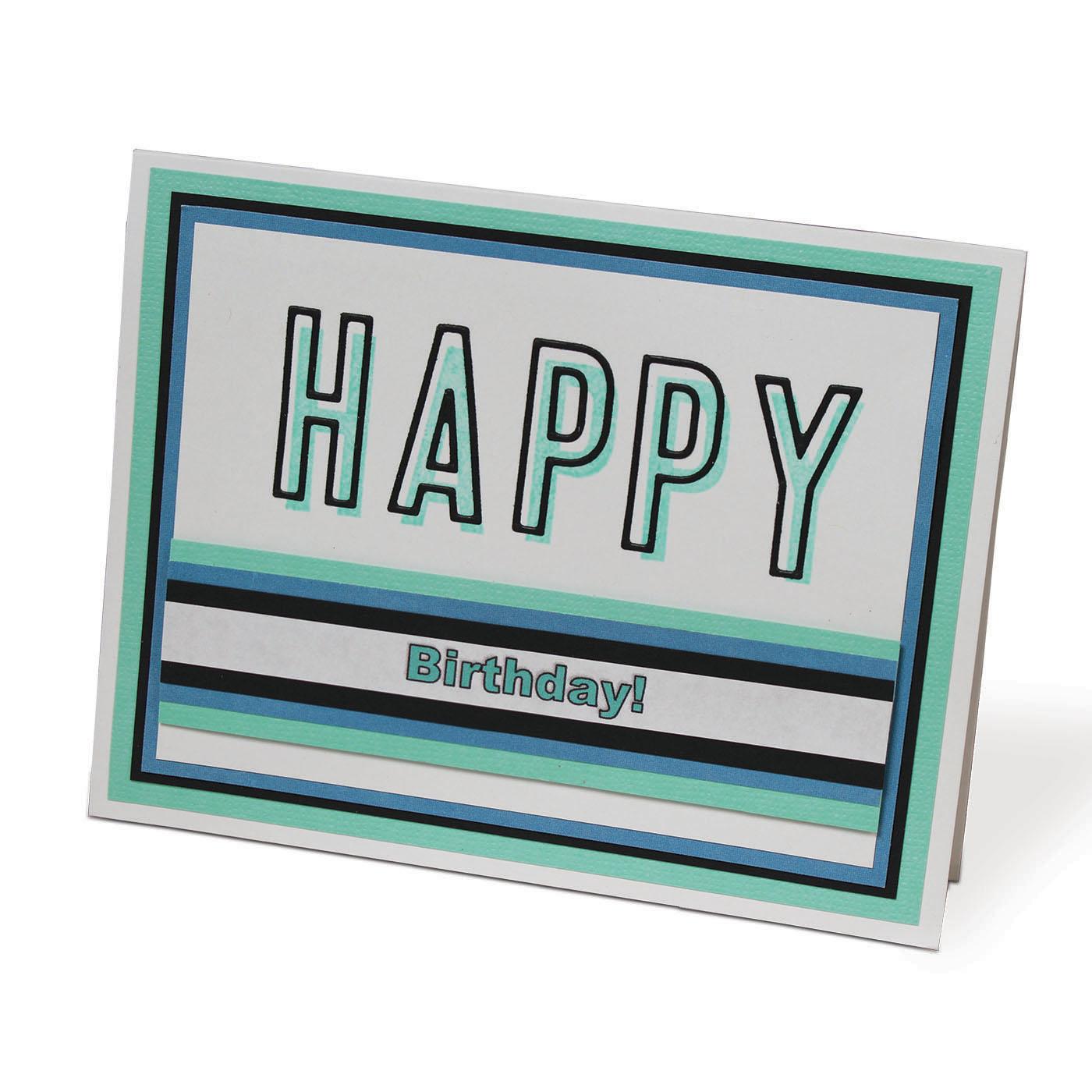Haley Alphabet card