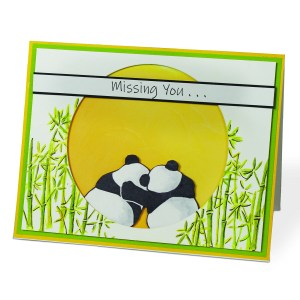Playful Pandas stamps