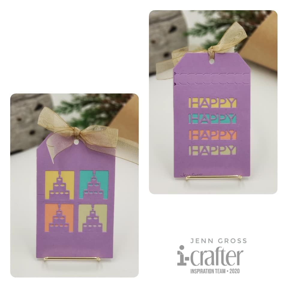 Zip Gift Tag