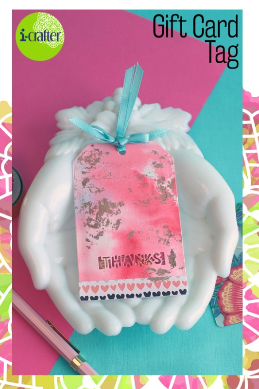 i-crafter Zip Gift Tag