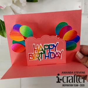 Amanda Stevens Happy Birthday Wiper Insert