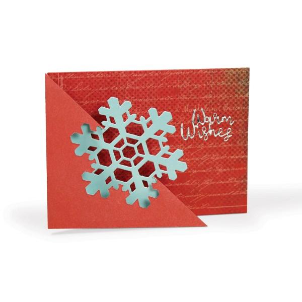 Flip Card, Snowflake