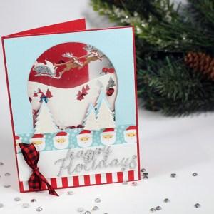 Tunnel Card, Santa