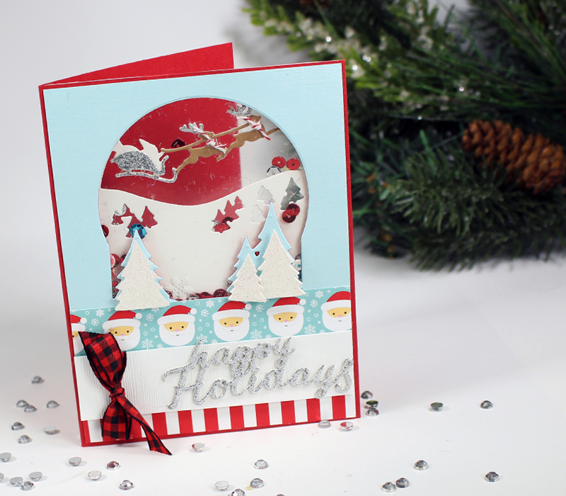 Tunnel Card, Santa