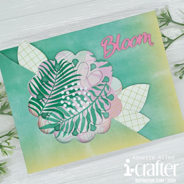 Flip Card, Flower