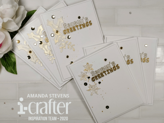 Amanda Stevens Mass Produce Christmas Cards