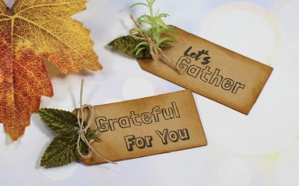 Thankful Sentiments