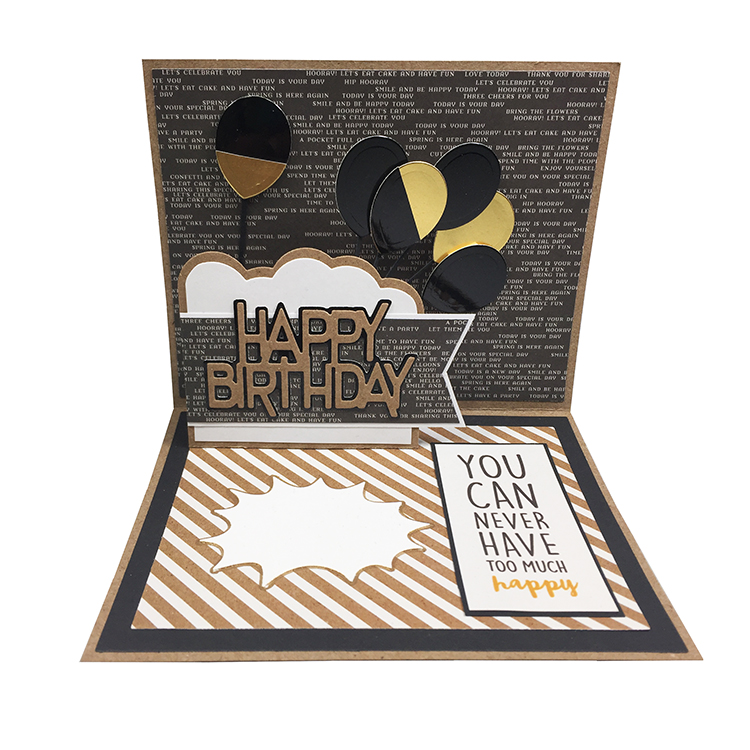 Happy Birthday Wiper Insert