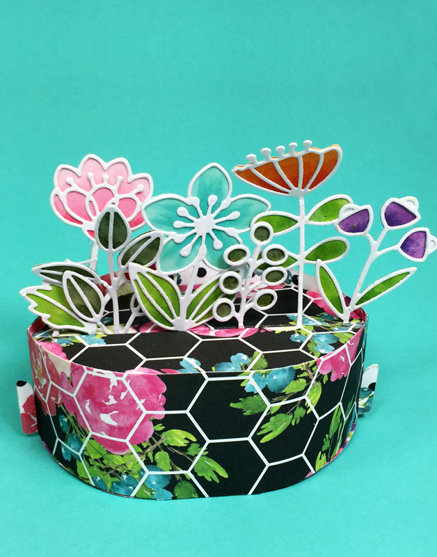 Box Pops, Flower Add on