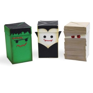 Impossible Box, Monsters