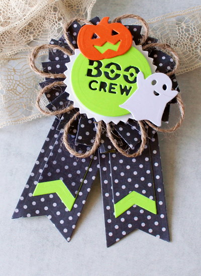 Ribbon Rosette, Halloween