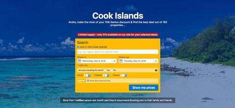 Top 10 Islands World Cook Islands Book hotel Cook Islands