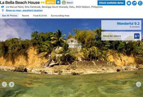 Top 10 Islands World Cebu La-Bella-Beach-House