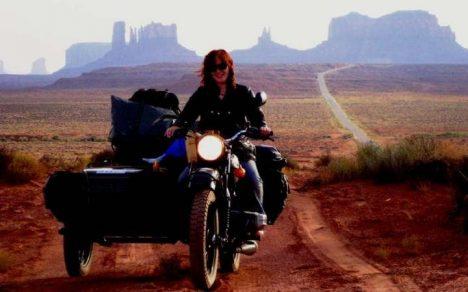 World Traveller Lois Pryce
