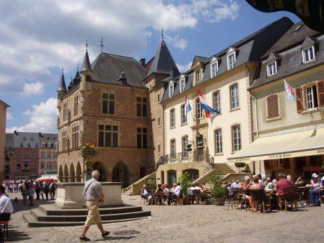 Hidden tourist spots Luxembourg Echternach
