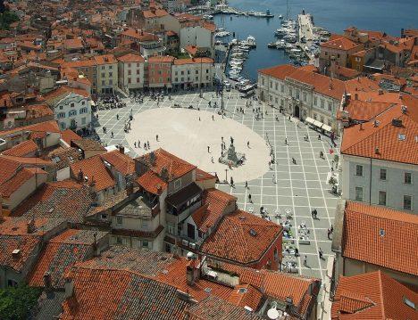 Hidden tourist spots Piran Slovenia