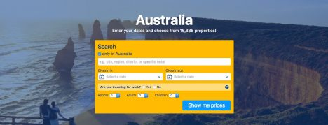 Book accomodation in Australia
