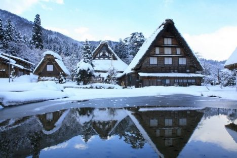 Underrated tourist spots Shirakawa-go Japan