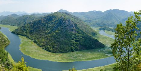 Lake Skadar, Lake Scutari, Lake Shkodër, Lake Shkodra - on the border between Albania and Montenegro