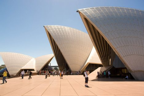 Australia's most photographed tourist attraction: Sydney Opera House