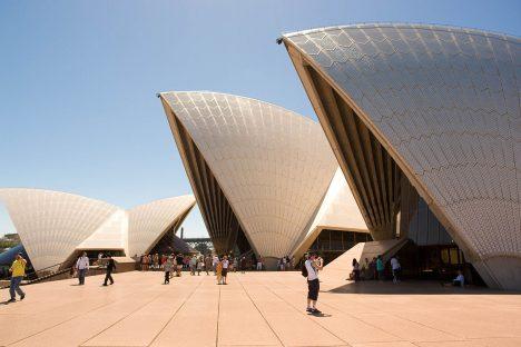 Australia's most photographed tourist attraction: Sydney Opera House