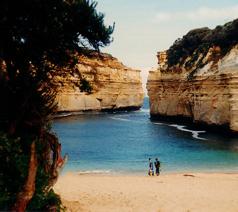Australia Great Ocean Road: 12 Apostels.