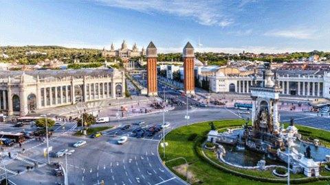 Top 10 cities year Barcelona