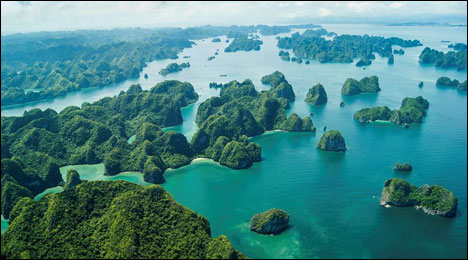 cheap holiday destinations Halong Bay Vietnam