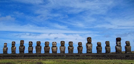 Getting there is not easy Easter Island