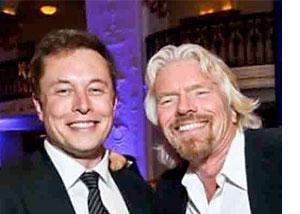 Elon Musk Richard Branson